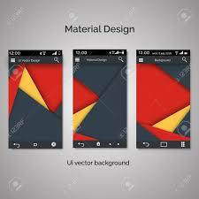 Vector Illustration Of Abstract User Interface Templates Of
