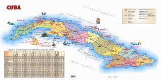 large detailed tourist map of cuba cuba large detailed tourist