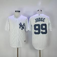 Cool Yankees White Aaron Stitched Jersey 99 New Mlb Base Strip Judge eaebffafcfb How Does The Ref Miss That?