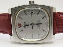 vintage omega electronic f300hz geneve chronometer steel men used image is loading vintage omega electronic f300hz geneve chronometer steel men