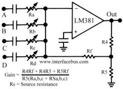 mixer circuit diagram the wiring diagram dictionary of electronic and engineering terms audio mixer circuit circuit diagram