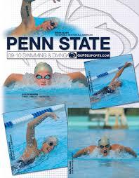 2009 10 Penn State Swimming Diving Media Guide By Penn