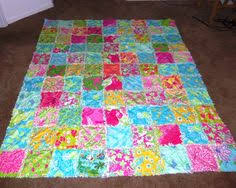 lilly dress quilt ~ made from 7 years of carolina cup dresses! <3 ... & Lilly Pulitzer Multi Patch Rag Quilt Twin/Full Bedspread. Love these  colors- Etsy Adamdwight.com
