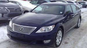 Pre Owned 2010 Lexus LS 460 LWB AWD Executive Package - YouTube