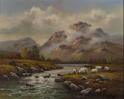 Wendy Reeves art - Mountain Mist, Original Oil Painting