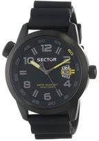 oversized watches for men shopstyle uk sector men s watch r3251102225 in collection oversize 48mm 3 h and s black