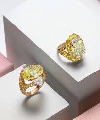 Yellow Diamond Vs White Diamond Yellow Diamonds High Jewellery Creations David Morris