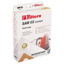 <b>Мешок</b>-<b>пылесборник Filtero</b> (4шт) <b>Filtero</b> Comfort не рвутся ...