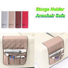 5 pocket armchair sofa book storage candy organizer tv remote control holder new ebay