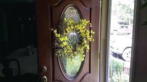 hang wreath on glass door wreth glss regrd hang wreath on glass door