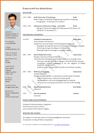 Free Download Resume Format For Job Application Resume Example Templates For Openofficee Download Open How To 66