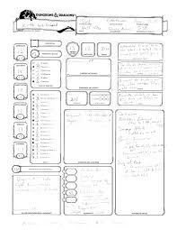 hero forge character sheet dungeons and dragons figure from heroforge