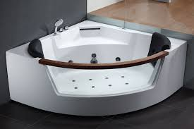 opentip com eago am197 5 rounded clear modern corner whirlpool bath tub with fixtures