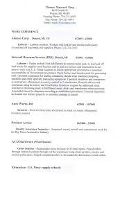 Resume Cover Letter For Hospitality Industry Resume Cover Letter