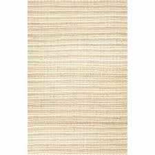 rugs naturals solid pattern cotton jute taupe ivory area rug 8x10