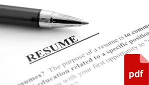 Edit Resume How To Edit A Resume In Pdf