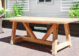 full size of decorations surprising diy wood patio furniture 12 wooden table design our part i