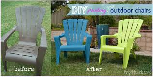 painting plastic chairs for best how to paint outdoor summer spruce