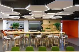 office cafeteria. Plain Office Office Cafeterias Interior Design For Healthier Choices  LDB   Commercial Toronto Interiors To Cafeteria C