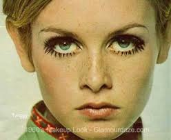 twiggy and her lashes