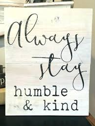 Word Signs Wall Decor Wooden Word Wall Art Word Signs Wall Decor Humble And Kind N 66
