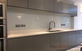 Choose Coloured Kitchen Glass Splashbacks Uk In 2019 Glass