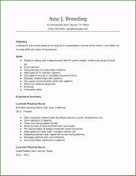 Examples Of Lpn Resumes Lpn Resume Sample Exclusive 2019 Nursing Resume Fillable
