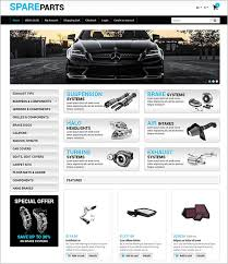 auto parts website template 8 car websites opencart themes templates free premium templates