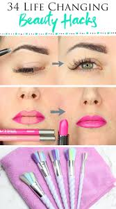 you asked for it so here are my 34 best makeup hacks for the