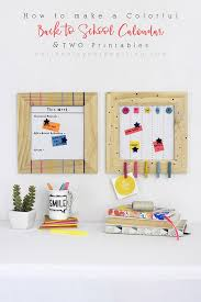 How To Make A School Calendar How To Make A Colorful Back To School Calendar Delineate
