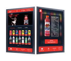 AtT Vending Machines Interesting Smart Vending Touchscreen Cashless Payment Cloud VMS InHand