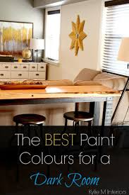 The Best Light Paint Colours for a Dark Room / Basement