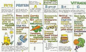 Chart Vitamin C Fruits And Vegetables