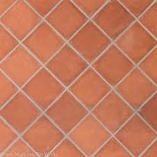 breathtaking clay tile flooring