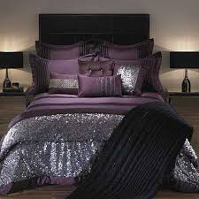 purple and silver bedroom luxury bedding purple black and sequin forter luxury