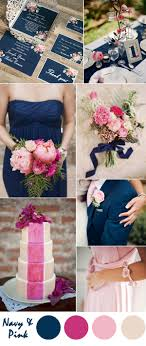 ten most gorgeous navy blue wedding color palette ideas for 2016 Wedding Colors Navy And Pink navy blue and pastel pink country wedding ideas wedding colors navy blue and pink