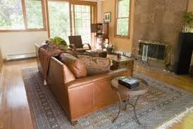 leather couch living room. The Right Rug Gives Your Living Room A Soothing Sense Of Unity. Leather Couch