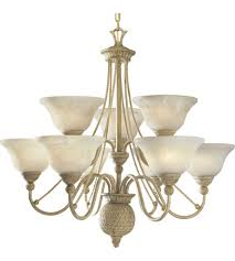 progress p4121 42 savannah 9 light 33 inch seabrook chandelier ceiling light