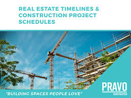Project Schedules Real Estate Timelines And Construction Project Schedules Pravo