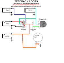 diy truebypass feedback loop talkbass com my idea of looper feedback volume gif