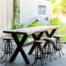 a rustic beauty handcrafted from reclaimed wood the rustic character shines through our industrial factory table the imperfections make it beautiful bt2 8 rustic wood furniture