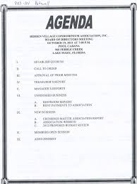 Make An Agenda How To Make An Agenda For A Meeting Template Waiter Resume 7