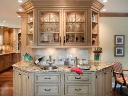 entrancing kitchen decoration using various wet bar kitchen cabinets breathtaking kitchen decoration using white ivory