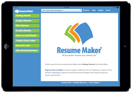 Resume Apps Tablet Apps Individual Software 12