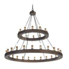 2 tier chandelier rustic candle chandelier wooden finish frame double insulated with regard to elegant household 2 tier chandelier