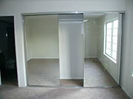 image mirrored sliding. Mirror Sliding Doors Door Closet Best Mirrored Decorative Slippy . Image P
