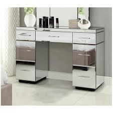 mirror tables furniture. rio mirrored dressing table console 7 drawer mirror furniture tables