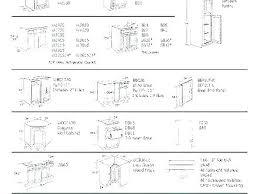 Kitchen Cabinet Door Size Chart Cabinet Door Sizes Chart Insidestories Org