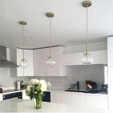 globe solid brass glass pendant light modern bathroom bedroom bedside lamp hallway lighting large white frosted ceiling shade