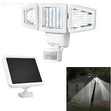 Details About 150 Led Solar Powered Outdoor Garden Security Motion Sensor Triple Flood Light
